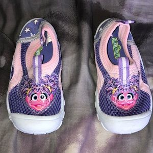 Sesame Street Abby Cadabby water shoes